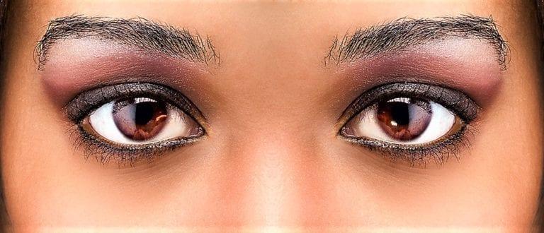 Как на сделать красивые глаза