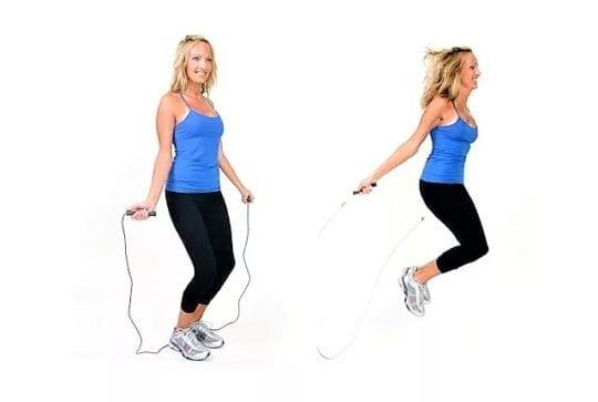 Эффект от прыжков на скакалке – похудение и тонус