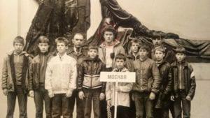 ya na sorevnovaniyah gorod Pinsk Belorussiya 1987