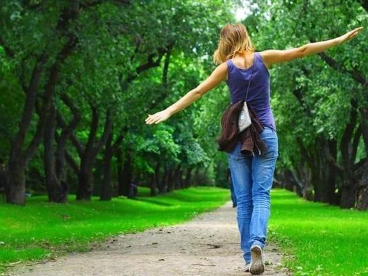 прогулка на свежем воздухе