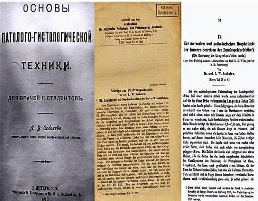 титульные листы Соболева