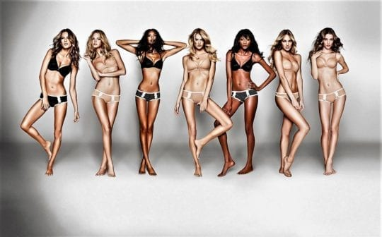 худые девушки