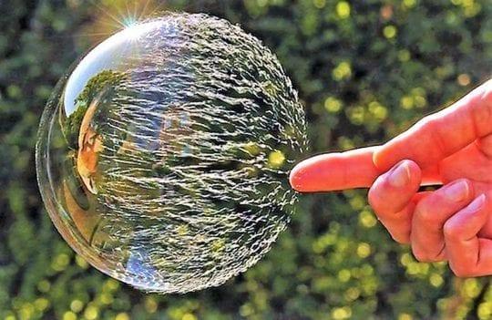 лопнутый пузырь