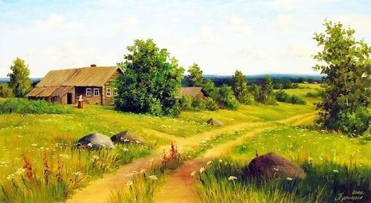 отпуск в деревне