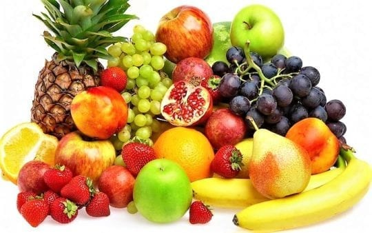 овощи и фрукты богатые клетчаткой