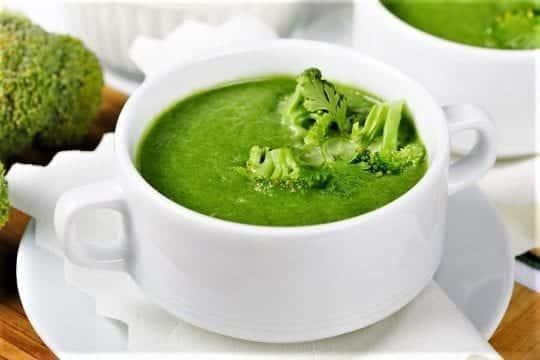 суп-пюре из брокколи диетический рецепт