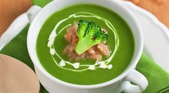 суп с курочкой из брокколи