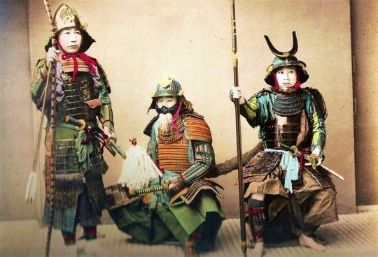 три самурая