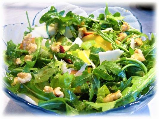 белковый салат с сельдереем для похудения