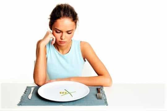 меньше ешь медленнее худеешь