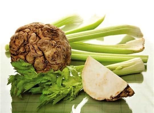 сельдерей корневой и черешковый для похудения