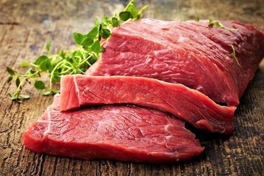 сырое мясо ГИ