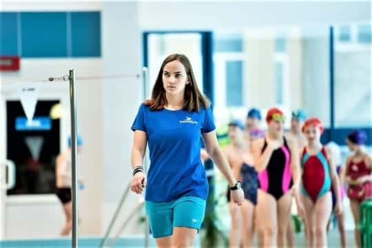 тренет по плаванию для похудения