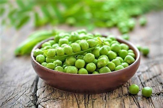 зеленый горошек ГИ
