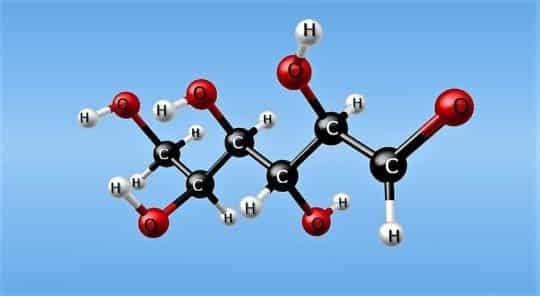 глюкоза строение