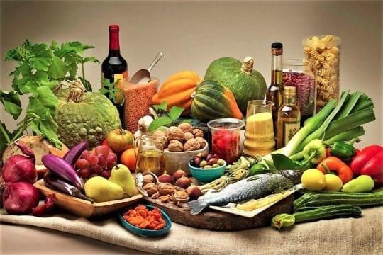 разнообразие еды