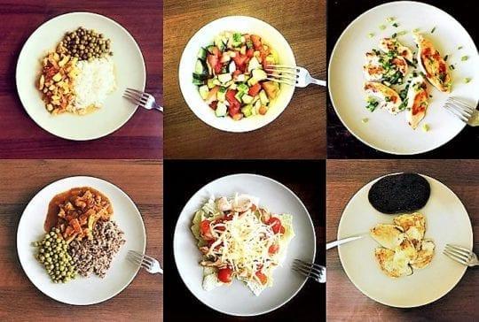 Белково углеводная диета примерное меню