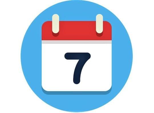 7 дней календарь