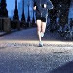 Бег по вечерам для похудения: убираем живот и бока. График тренировок и меню на неделю