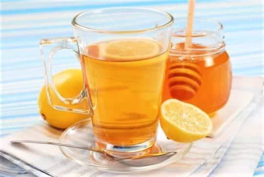 Медово-лимонный коктейль