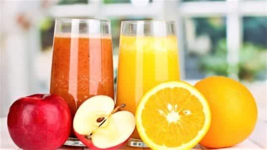 Яблочно-апельсиновый сок