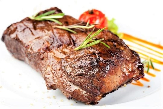 ароматный говяжий стейк