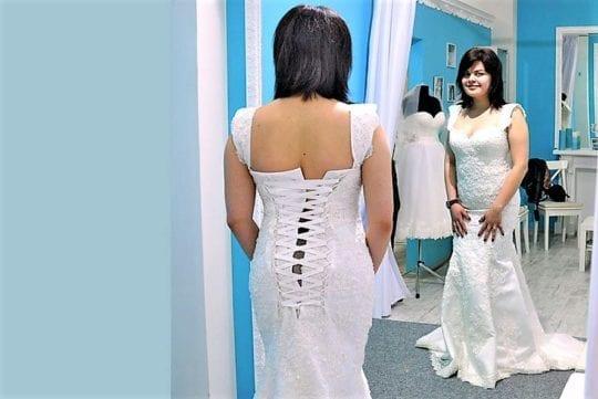 невеста в платье