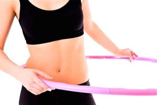 обруч упражнения