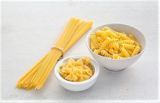 порция макарон