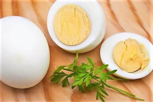 яйца в крутую диета