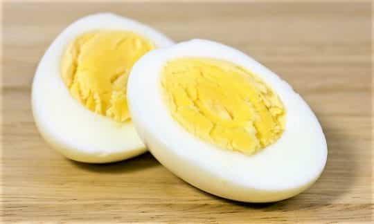 яйцо вареное диета