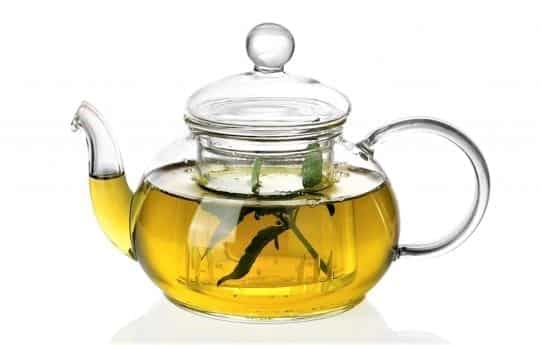 зеленый чай и корица