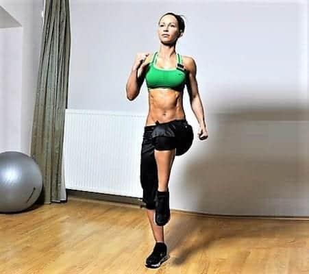 бег дома для похудения