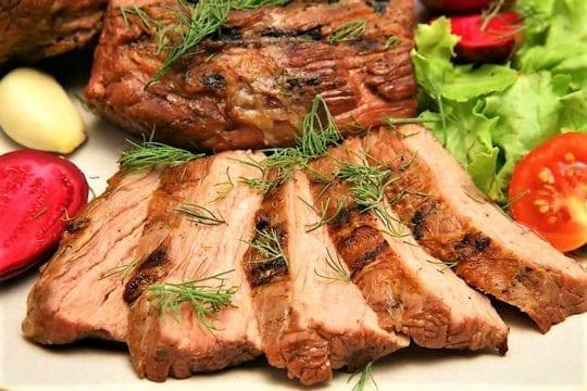 печеное мясо