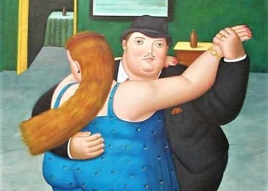 толстый мужик живопись