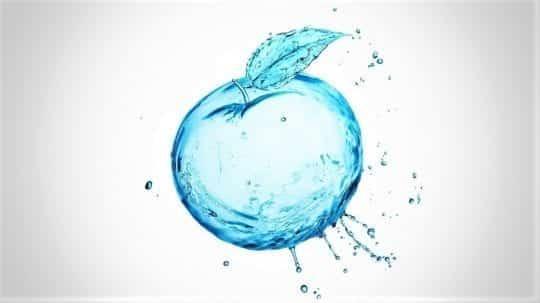 яблоко вода