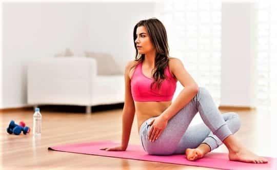 План тренировок для похудения дома