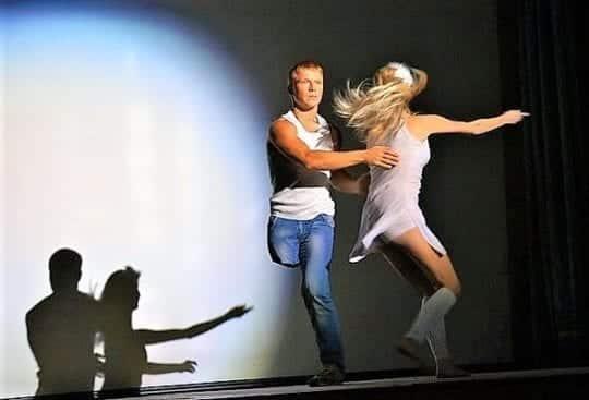 одноногий танцор