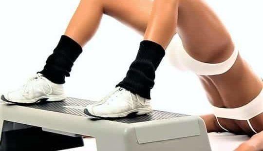 Степ— аэробика для похудения в домашних условиях: питание и труд— все перетрут
