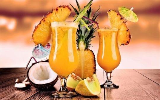 ананас коктейль
