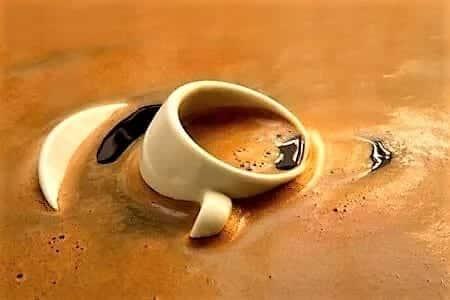 кофе море