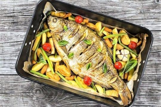 рыбу можно запекать