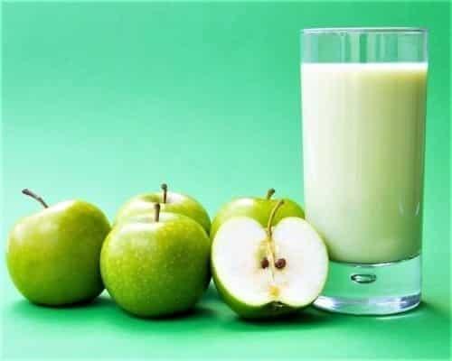 яблочно-молочная