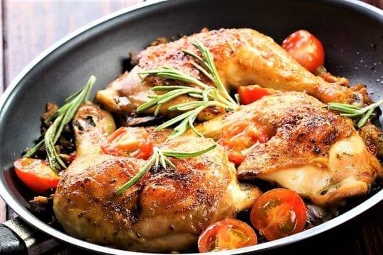 жареная курятина