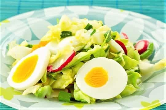 два яйца капустный салат