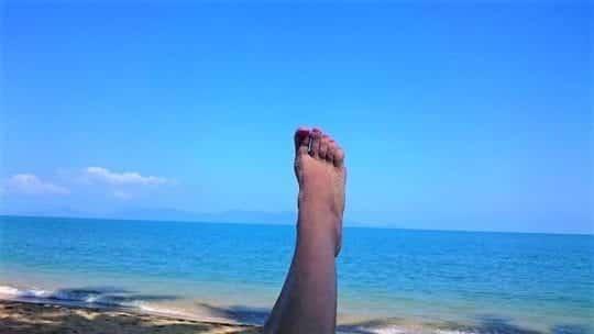 света нога