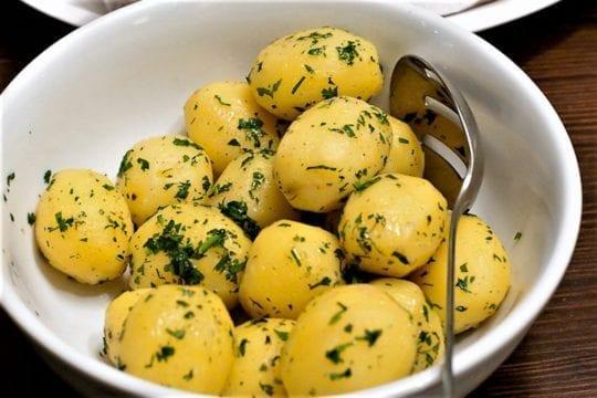 варёная картошинка