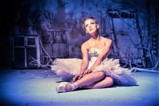 балерина устала