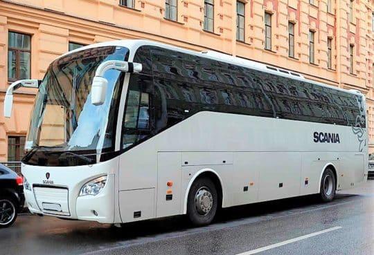 экскурсионный автобус высота тур